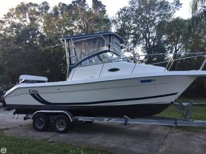 Used Cobia 250 WAC Walkaround Fishing Boat For Sale