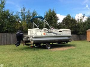 Used Sun Tracker Party Barge 21 Signature Pontoon Boat For Sale