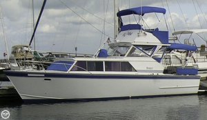 Used Marinette 32 Express Cruiser Boat For Sale