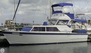 Used Marinette 32 Express Aft Cabin Boat For Sale