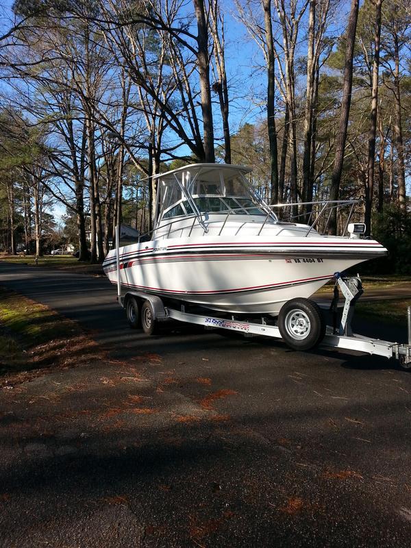 Used Fountain 25 Sport Cuddy Cabin Boat For Sale