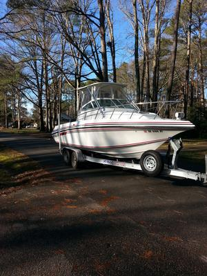 Used Fountain 25 Sport Cuddy Cabin Boat For Sale