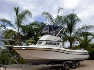 Used Grady-White 26 Atlantic Flybridge Sports Fishing Boat For Sale