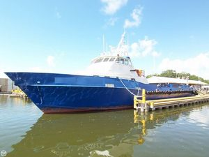 Used Breaux 135 Crew Passenger Boat Crew Boat For Sale