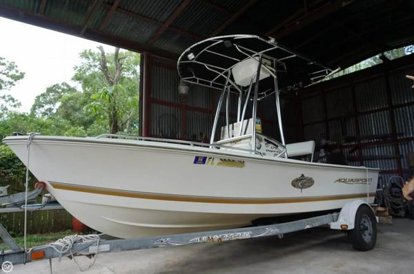 Used Aquasport 175 Osprey Center Console Fishing Boat For Sale