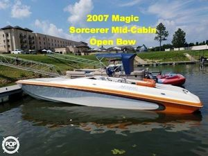 Used Magic Sorcerer Mid Cabin Open Bow High Performance Boat For Sale