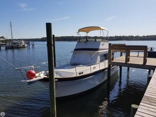 Used Californian 34 LRC Trawler Boat For Sale