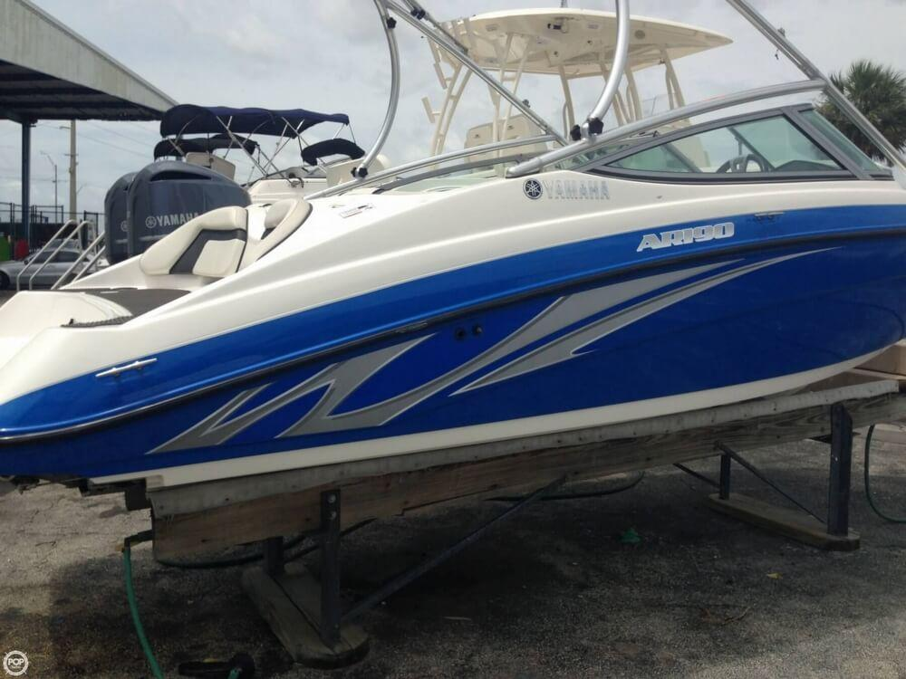 2015 used yamaha ar190 jet boat for sale 19 900