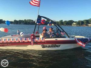 Used Malibu Sunsetter VLX Ski and Wakeboard Boat For Sale