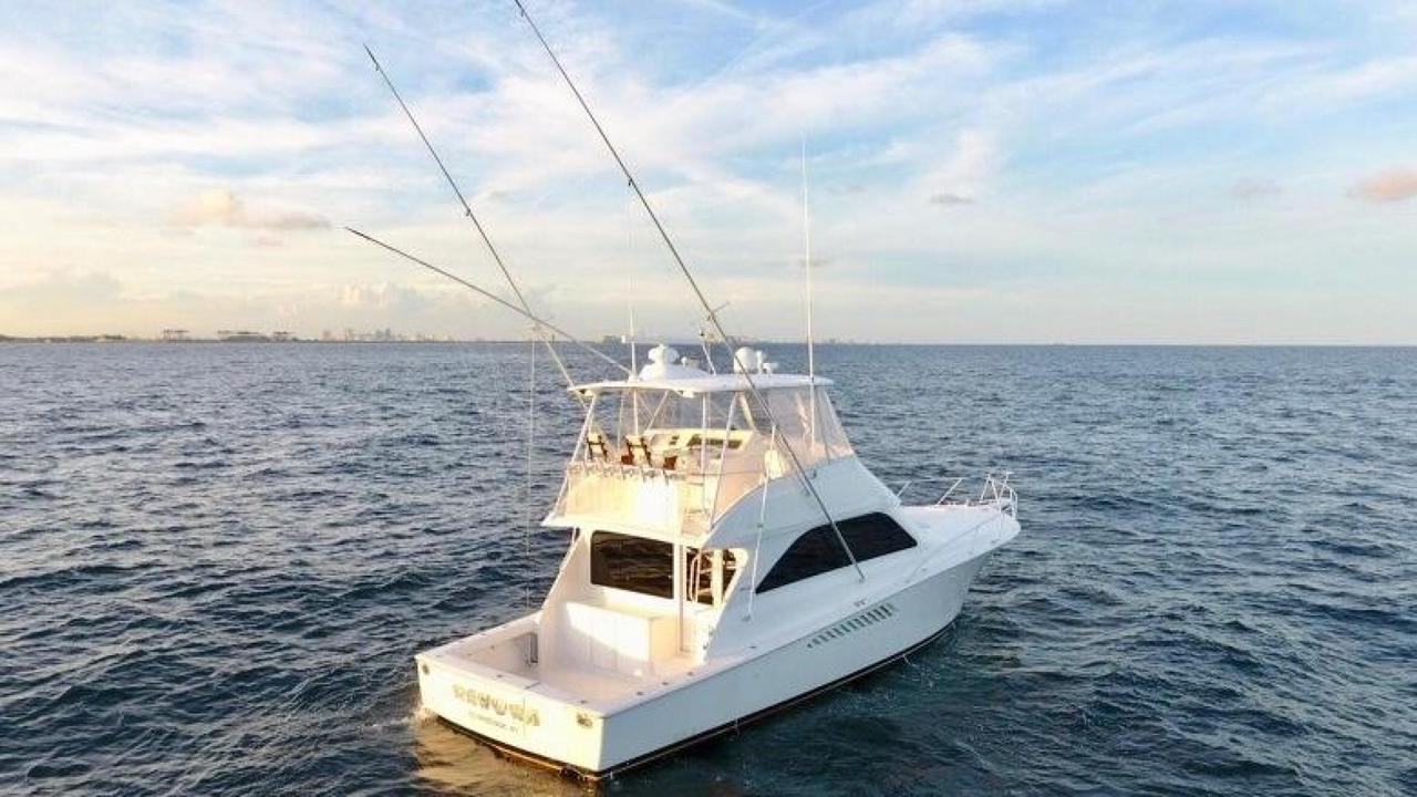 2007 used viking 45 convertible fishing boat for sale for Viking fishing boats
