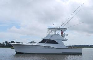 Used Hatteras Custom Carolina Style Saltwater Fishing Boat For Sale