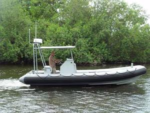 Used Willard Marine Sea Force 730 Tender Boat For Sale