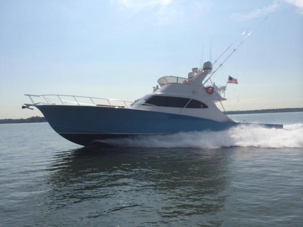 Used Custom Carolina 60 Sportfish Convertible Fishing Boat For Sale