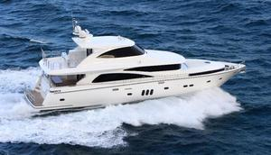 New Johnson Skylounge w/Fishing Cockpit Motor Yacht For Sale