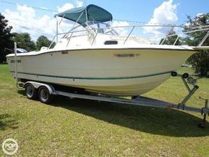 Used Sea Pro 235wa Walkaround Fishing Boat For Sale