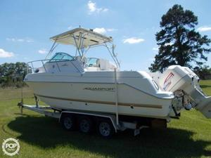 Used Aquasport 275 Walkaround Fishing Boat For Sale