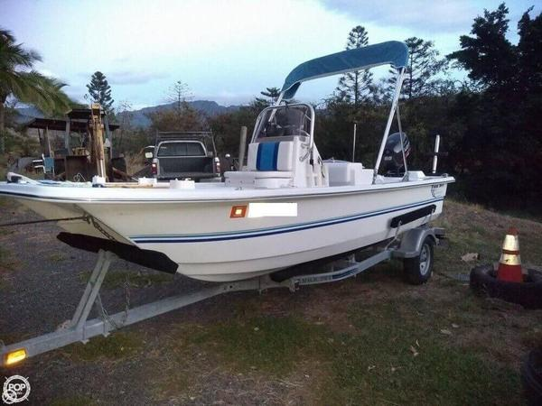 Used Twin Vee Bay Cat 17 Center Console Fishing Boat For Sale