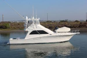 Used Cabo Yachts 47 Flybridge Sportfisher Saltwater Fishing Boat For Sale