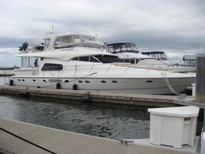 Used Johnson 70 Johnson Motoryacht Aft Cabin Boat For Sale