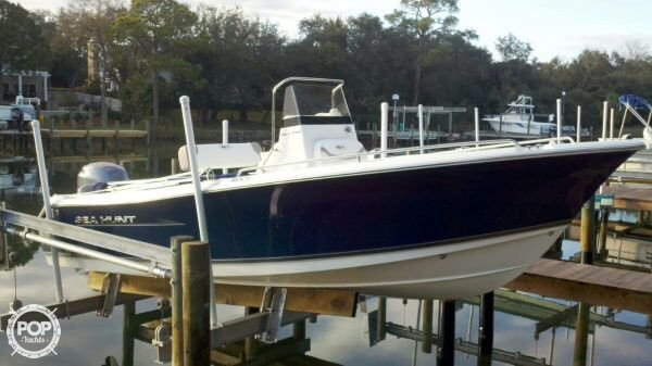 Used Sea Hunt Ultra 196 Center Console Fishing Boat For Sale