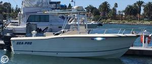 Used Sea Pro 235 CC Center Console Fishing Boat For Sale