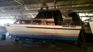 Used Trojan 30 Convertible Fishing Boat For Sale