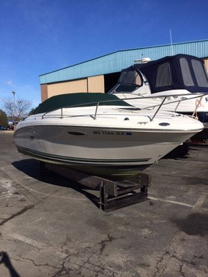 Used Sea Ray 225we Cuddy Cabin Boat For Sale
