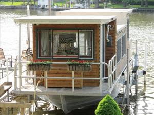 Used River City 36 House Boat For Sale