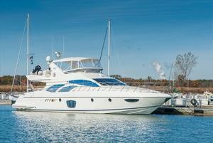 Used Azimut 62 Flybridge Saltwater Fishing Boat For Sale