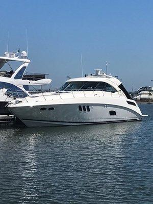 Used Sea Ray 540 Sundancer Sports Cruiser Boat For Sale