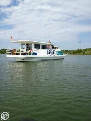 Used Gibson 12 x 42 Lazy Cruz House Boat For Sale