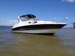 Used Larson 290 Cabrio Cuddy Cabin Boat For Sale