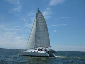 Used Alliaura Marine Privilege 39 Catamaran Sailboat For Sale