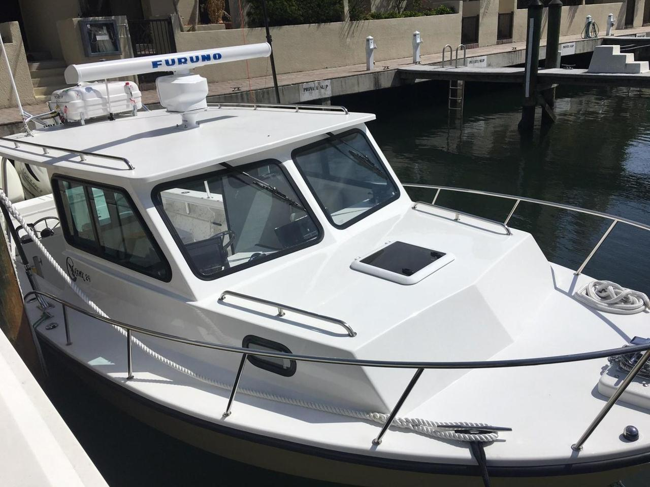 2017 Used C Hawk Sport Cabin Saltwater Fishing Boat For