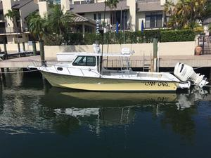 Used C Hawk Sport Cabin Saltwater Fishing Boat For Sale