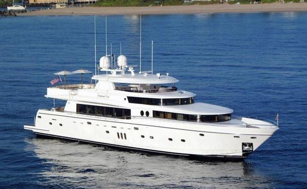 New Johnson 110' Flybridge w/On-Deck Master Motor Yacht For Sale