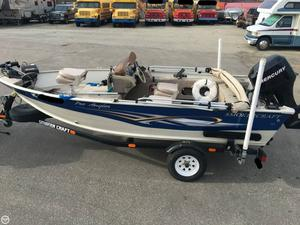 Used Smoker Craft 161 Pro Angler Aluminum Fishing Boat For Sale