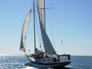 Used John G Alden 42 Schooner Sailboat For Sale