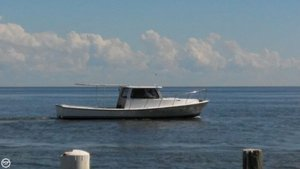 Used Gulf Breeze Boats 32 Crabber Boat For Sale