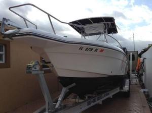 Used Stamas 250 Tarpon250 Tarpon Saltwater Fishing Boat For Sale