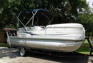 Used Sun Tracker 21 Party Barge Signature Series Pontoon Boat For Sale