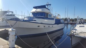 Used Meridian 48 Trawler Boat For Sale