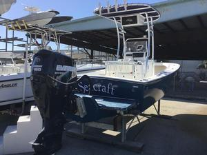 Used Seacraft 20' Sea Craft Center Console Fishing Boat For Sale