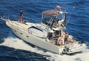 Used Trojan 10- Meter Sedan Sports Fishing Boat For Sale