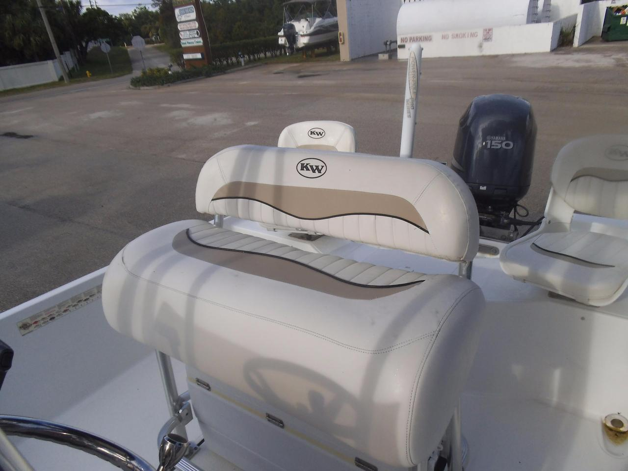 2010 Used Key West 216 Bay Reef Saltwater Fishing Boat For