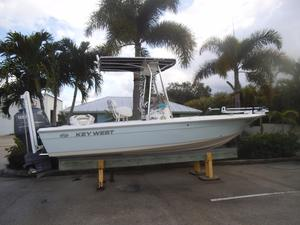 Used Key West 216 Bay Reef Saltwater Fishing Boat For Sale