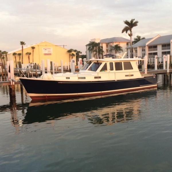 Used Legacy 42 Sedan Downeast Fishing Boat For Sale