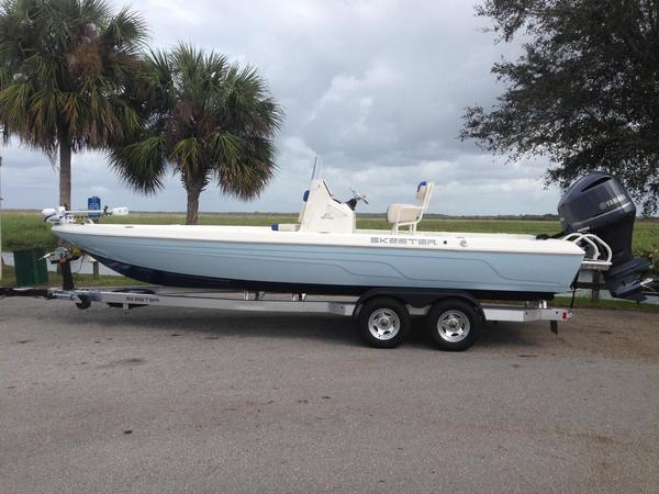 Used Skeeter SX 240 Saltwater Fishing Boat For Sale
