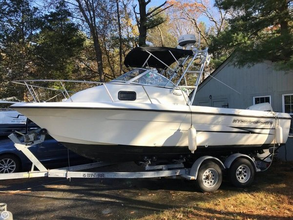 Used Hydra-Sports 212 Sea Horse Walkaround Fishing Boat For Sale