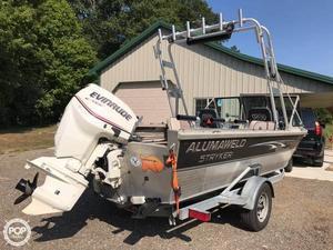 Used Alumaweld Stryker 19 Aluminum Fishing Boat For Sale